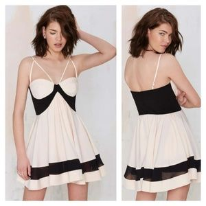 NWOT Nasty Gal Party On Fit & Flare Dress